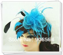 Free shipping multicolors for select sinamay fascinator hats good bridal wedding hats high quality cocktail hat Very nice MSF098(China)
