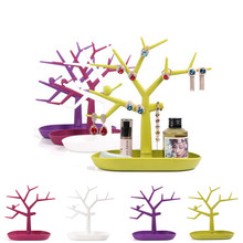 Fashion Popular Multifunctional Tree Branch Shaped Jewelry Display stand Fit Earring Bracelet Necklace Ring