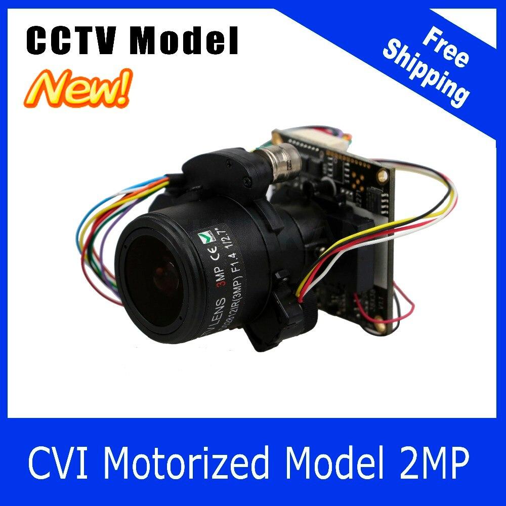 Motor Camera CVI 1080P 2.8-12mm Zoom &amp; Auto Focal Lens PTZ 2MP module board<br>