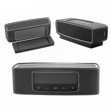 PU Leather Case Cover Skin Pouch For Soundlink Mini 2 Bluetooth Speaker Travel Bag Speaker Case