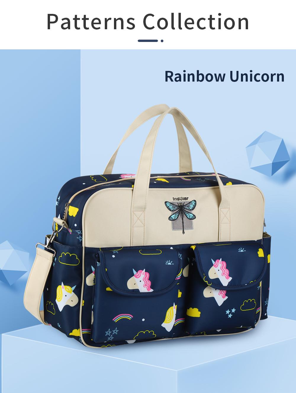 Waterproof Multifunctional Diaper Bag 15