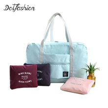 Women Travel Luggage Sets Bags Lady Big Size Large Capacity Business Travel Carry On Luggage Waterproof Nylon Tote Bag 2017
