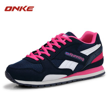ONKE Brand 2016 Running Shoes For Men Sneakers Breathable Air Mesh Eva Athletic Sapatos Women Male Sport Shoes Running Shoe Mens(China)