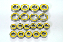 Free Shipping Supply high grade Modle car bearing sets bearing kit TRAXXAS(CAR) SLASH VXL SC W/TEKNO U/GRADE