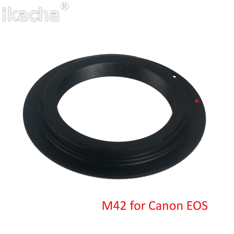 M42 Screw Lens For Canon EOS EF  Mount  Adapter Ring (1)