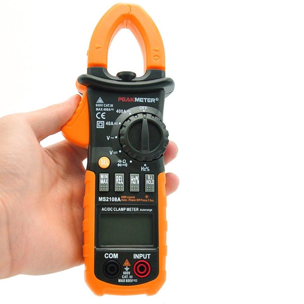 Portable HYELEC Digital Clamp Meter Multimeter AC DC Current Volt Tester Brand New<br>