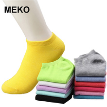 10 Pairs 20pcs/lot Women Socks Candy Fashion Ankle Boat Short Socks Spring&Autumn Thin Ankle Invisible Socks For Girl W16