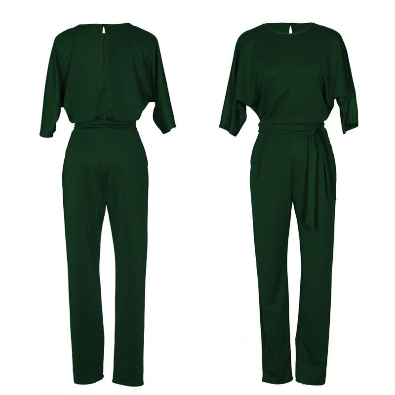 EleJumpsuit Long Pants Women Rompers 2017 Spring Autumn Sexy (14)