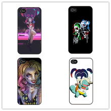 Suicide Squad Harley Quinn Style  Jared Leto fashion cover Mobile Phone Cases Accessories For iPhone7 6 6S Plus 5 5S 5C SE 4S