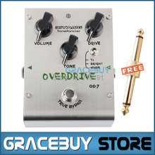 Biyang Effect OD-7 Overdrive 3 Mode Toggle Tone fancier True Bypass SS Case Electric Guitar Pedal  Musical Instruments