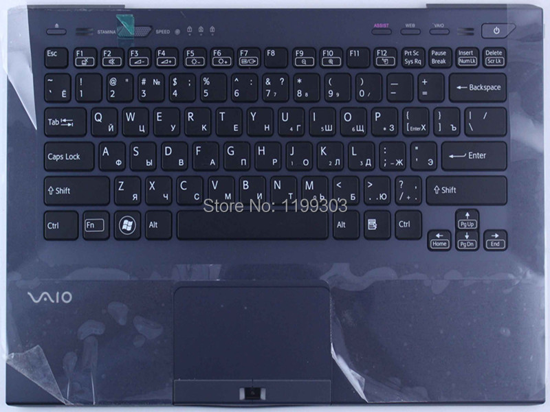 Genuine laptop keyboard for sony vaio SB SD SP RU black with C cover 9Z.N6BBF.00R 148949641 notebook keyboard on sale<br><br>Aliexpress