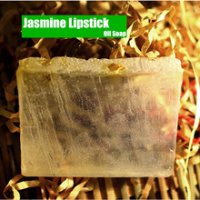 Natural Jasmine Refreshing Oil Control soap by Handmade perfume Oil soap Beauty Health Lipstick soap for men and women(China)