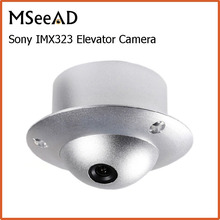 Mini CCTV Dome Camera SONY IMX323 2MP 1080P AHD Camera Indoor Wide Angle Elevator Lift Security Camera UFO Camera 2.8mm HD Lens(China)