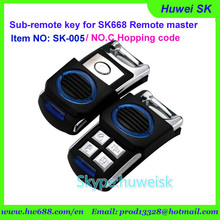 SK005 5buttons Rolling code NO.C 434MHz copy remote, sub-remote key for digital counter, lock smith remote copy machine(China)