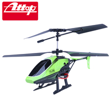 Attop YD-218 Children RC Helicopter Electric Toys with 3.5CH Gyro Crash Resistant Helicopter Remote Control Plane Cool Design#N