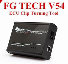 2016 New Arrival V54 FGTech Galletto 4 Master BDM-OBD Function FG Tech ECU Programmer with fast DHL free shipping