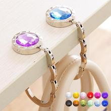 Crystal Alloy Handbag Hook Hanger Bag Holder Portable Desk Hanger Multiple  Foldable Purse Bag Hook Holder