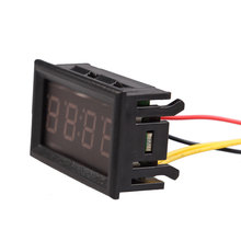 Superior Table Clocks Digital Electronic Clock 4 Digit 0.4inch LED For Car Motorcycle Motor Clocks Brand Electronic Watch BS(China)
