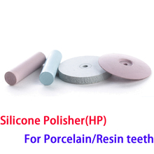 2016 New 100pcs Silicone Polisher Wheels and Points HP Handpiece 2.35mm Shank for Dental Lab Technician Products