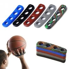 1pcs 5 Colors Silicone Shot Lock Basketball Ball Shooting Trainer Training Accessories Three-Point Size for Kids Adult Man Teens