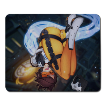 Overwatch Lena Oxton Mouse Pad Sexy Optical Mouse Anime Big Mouse Pad Computer Keyboard Large Mouse Pad Notebook Gaming Mat
