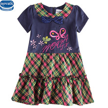 nova kids wear Brand baby girls dress summer Girl's Fashion Apparel 2~6Age Kids dress party princess girls' dresses child wear