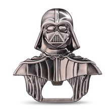 10pcs/lot Star wars darth vader keychain bottle opener keyring Alloy metal figure key chain ring porte clef for fan(China)