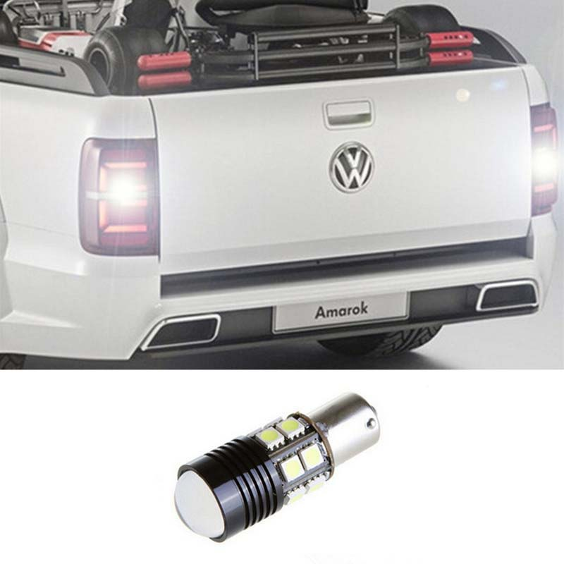 1pcs Error Free White LED Bulbs For Backup Reverse Light R5 1156 p21w ba15s For VW Passat B1 B2 B4 B3 B5 B6 polo Car Styling<br><br>Aliexpress