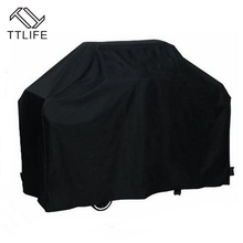 TTLIFE Waterproof BBQ Cover Dustproof Polyester Fibre Cloth Large BBQ Cover Gas Barbecue Grill Cover For Patio Protector 5 Sizes(China)