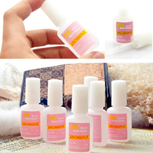 1pcs 10g BYB Nail Glue Tips Glitter For UV Acrylic Rhinestones Decoration With Brush Nail Glue for False Nails