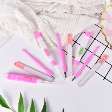 3Pcs/set LED Light Ear pick+Nail Pusher Remover+Nails files for Women Girls Beauty Tools(China)