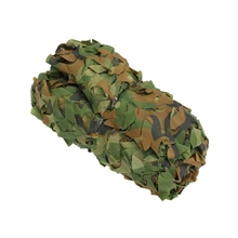 Best Price 2 x1.5m Outdoor Woodland Camo Net Military Camouflage Netting Mesh Games Hide Camouflage Net Hunting Camping Mesh(China)
