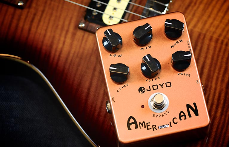 Joyo JF-14 American Sound Guitar Effect Pedal with Free Pedal Case<br>