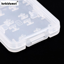 kebidumei 5pcs 8 in 1 Plastic Micro SD Card Case for SDHC TF MS Memory Card Storage Case Box Protector Holder High Quality(China)