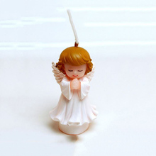 pray angel baby shaped handmade silicone candle molds child birthday DIY candles long term to use ,eco-friendly diswasher safe(China)