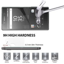 Buy 2.5D 0.26mm 9H Premium Tempered Glass Sony Xperia Z5 Compact E5803 E5823 Screen Protector Toughened protective film * for $1.69 in AliExpress store