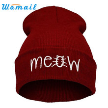 Hot Skullies Beanies Winter Hat pom pom Cap For Women Girl Vintage Solid Hemming Warm Spring Autumn Hat Female Drop Shipping -30