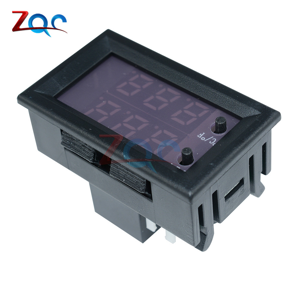 W1209WK W1209 WK W1219 DC 12V LED Digital Thermostat Temperature Control Thermometer Thermo Controller Switch Module +NTC Sensor 9