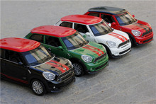 Double Horses 1:32 Scale Diecast Alloy Metal Car Model For MINI Coopers Countryman Collection Model Pull Back Toys Car(China)