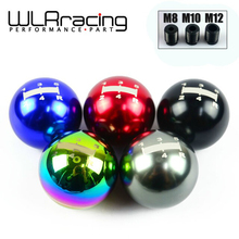 WLRING- Universal MGN Gear Shift Knob 5 five Speed Manual Automatic Spherical Shift Knob For Honda Acura/TOYOTA/NISSAN GSK04-5(China)