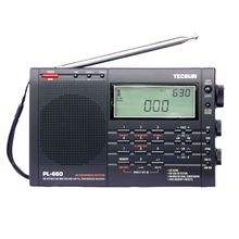 TECSUN PL-660 Radio PLL SSB VHF AIR Band Radio Receiver FM/MW/SW/LW Radio Multiband Dual Conversion TECSUN PL660