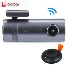 ddpai Mini2 1440P Full HD WIFI Car DVR Dash Camera Vehicle Digital Video Recorder 270 Degree Camcorder APP Monitor Night Vision