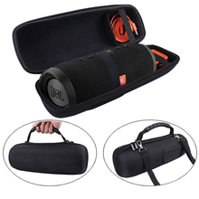 EVA Hard Case Travel Carrying Case for JBL Charge 3 & Charge 2 + Wireless Bluetooth Speaker, with Mesh pocket Fits Plug & Cables(China)