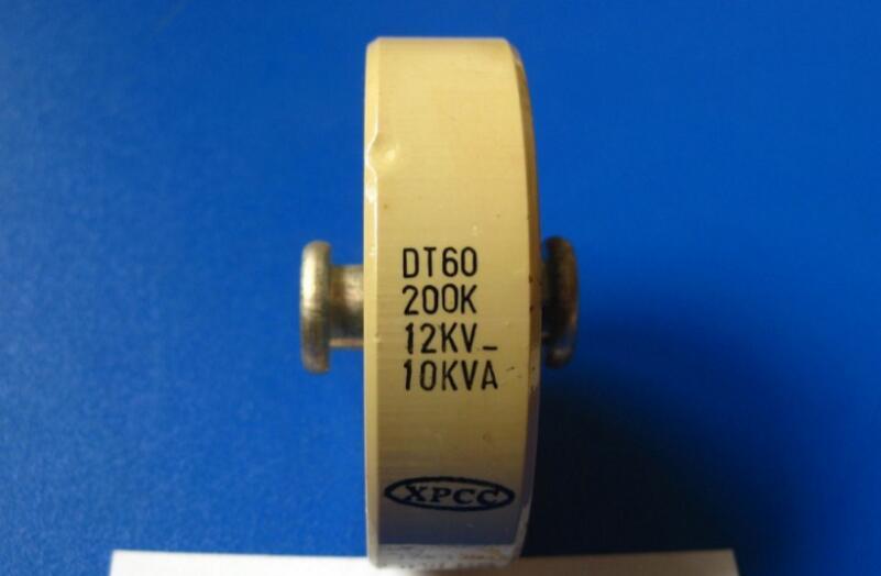 Round ceramics Porcelain high frequency machine  new original high voltage DT60 200K 12KV 10KVA   <br>