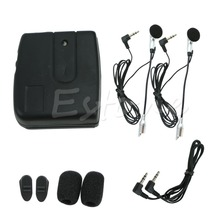 2-way Motorcycle Motorbike Helmet Intercom Headset Communication System New Hot(China)