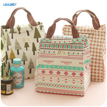 LOULONG Insulated Lunch Box Freezable Lunch Bag With Zip Closure Lunch Organizer Lunch Holder Container For Food Storage LB019(China)