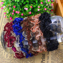 5CM Lady Lace Hair Holders Rubber Bands For Women Girls Super Hot Big Cute Hair Elastics Accessories Tie Gum 5 Colours Choose(China)