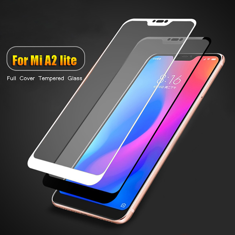 Full-Coverage-For-Xiaomi-A2-Lite-Glass-Toughed-Glass-For-Xiaomi-A2-A1-Mi-6-8