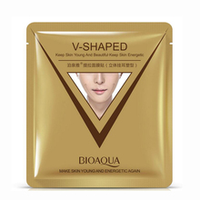 BIOAQUA Brand Face Mask Whitening Moisturizing Firming & Lifting Facial Mask Ear Style 3D Lift-up Facial Mask Skin Care 40g(China)