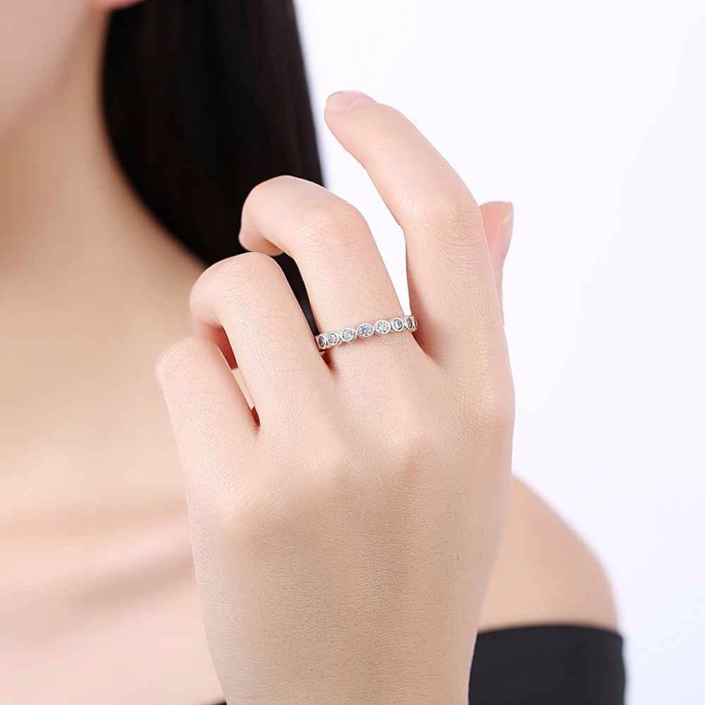 خاتم فضة الطوق 1